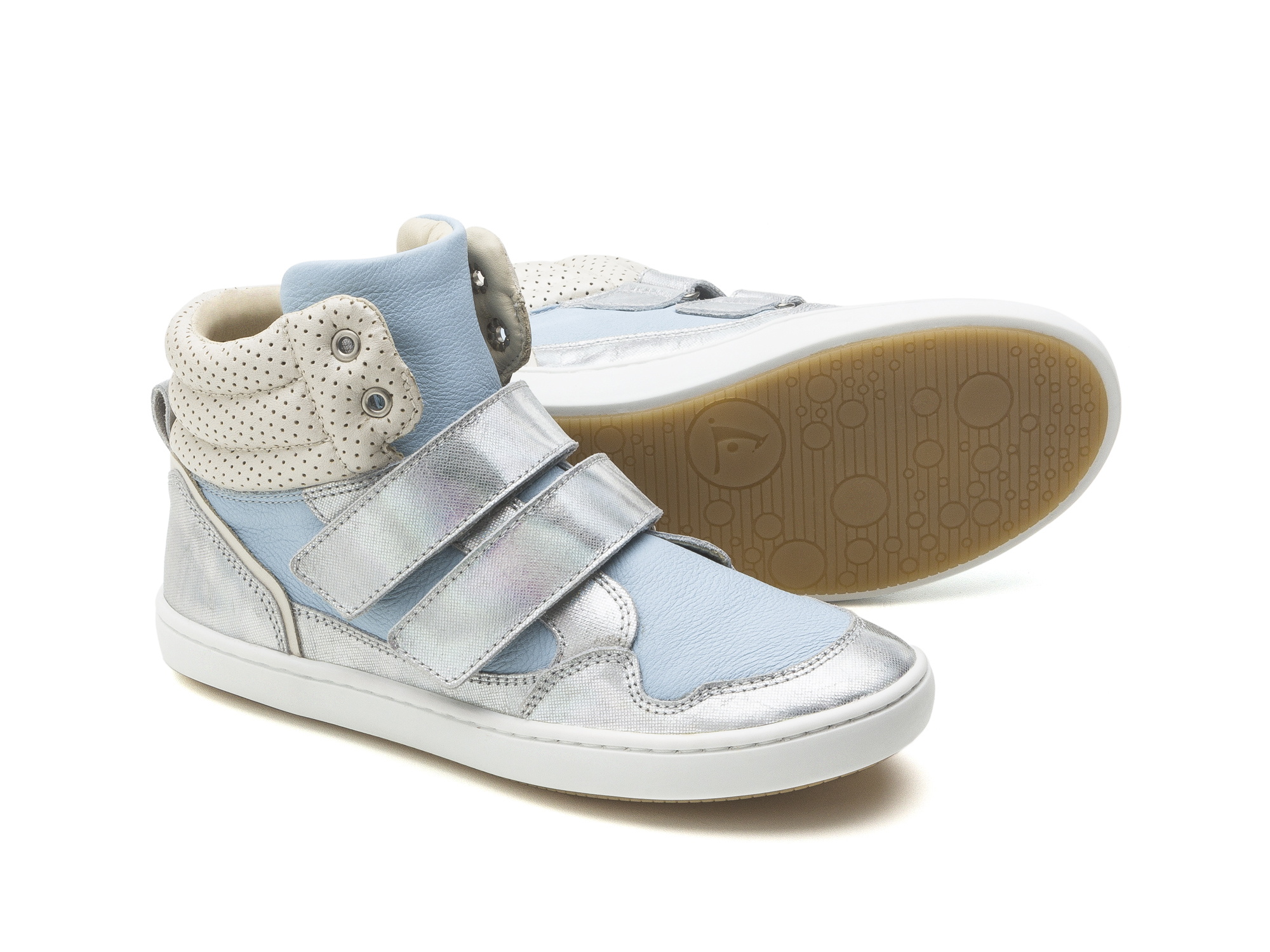 Bota Edge Sea Sparkle/ Baby Blue Junior 4 à 8 anos - 1
