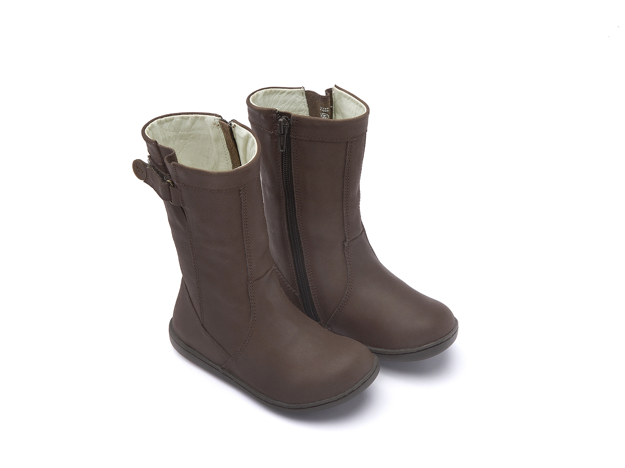 Bota Little Cold Old Brown  Toddler 2 à 4 anos - 0