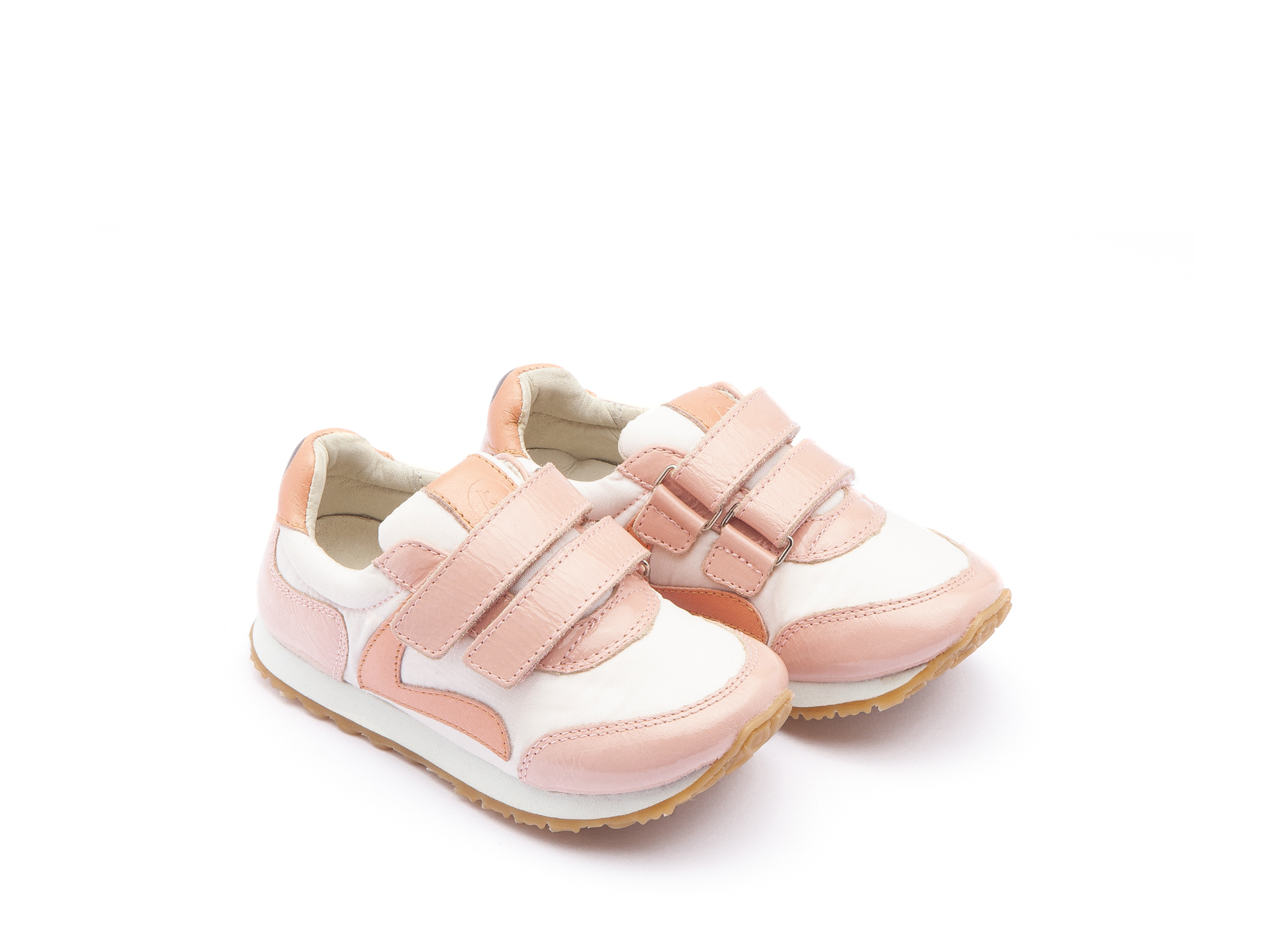 Tênis Little Jump Light Pink Nylon/ Patent Blush Toddler 2 à 4 anos - 0