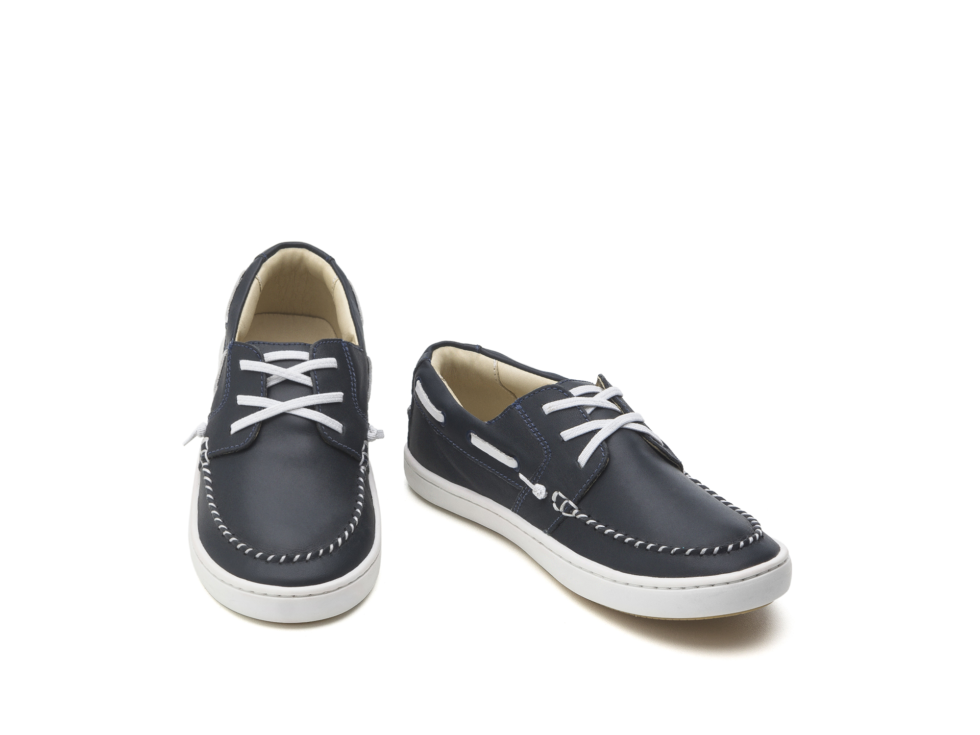 Tênis Snap Navy/ White Junior 4 à 8 anos - 2