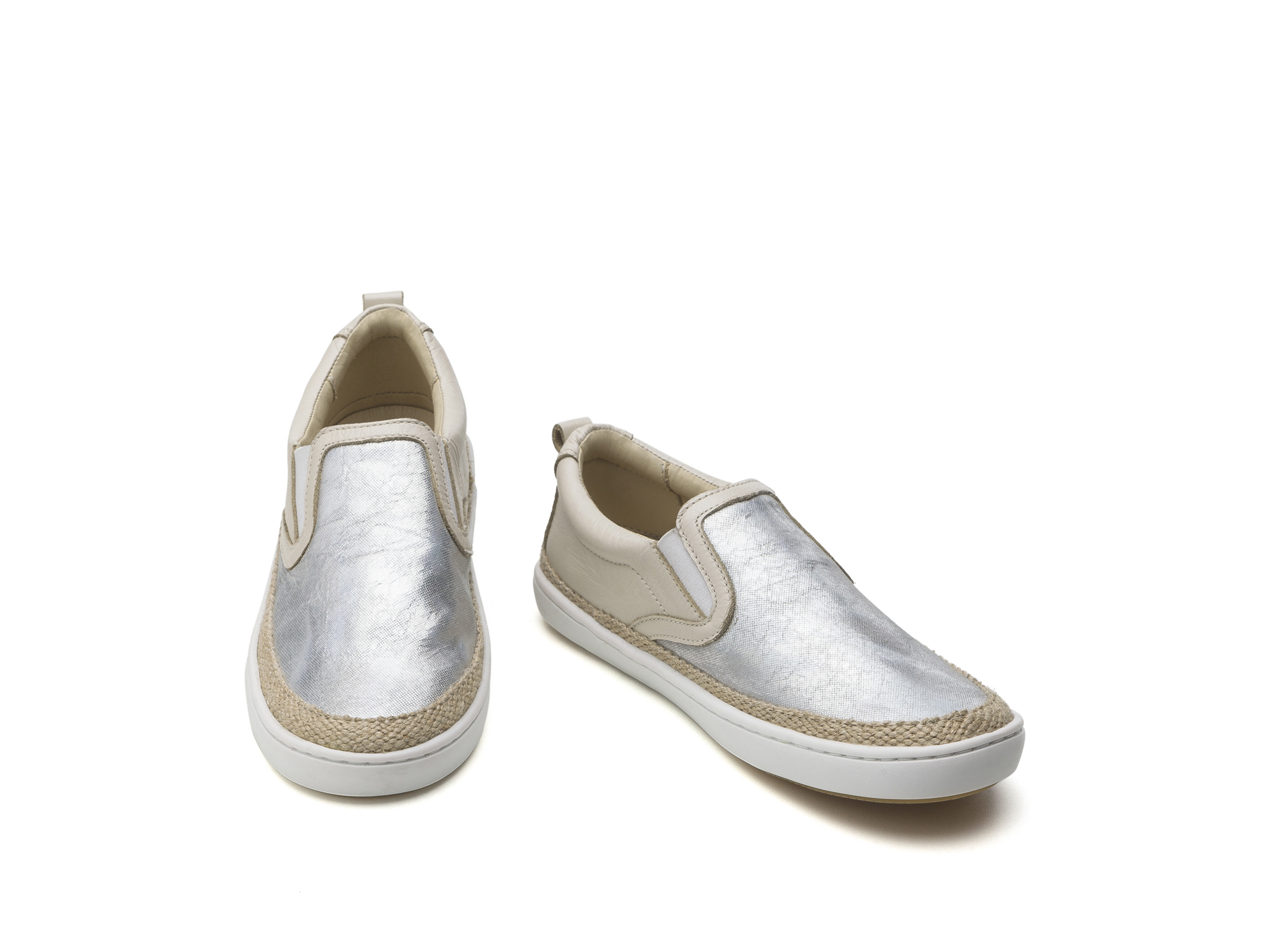 Tênis Straw Sea Sparkle/ Antique White Junior 4 à 8 anos - 2