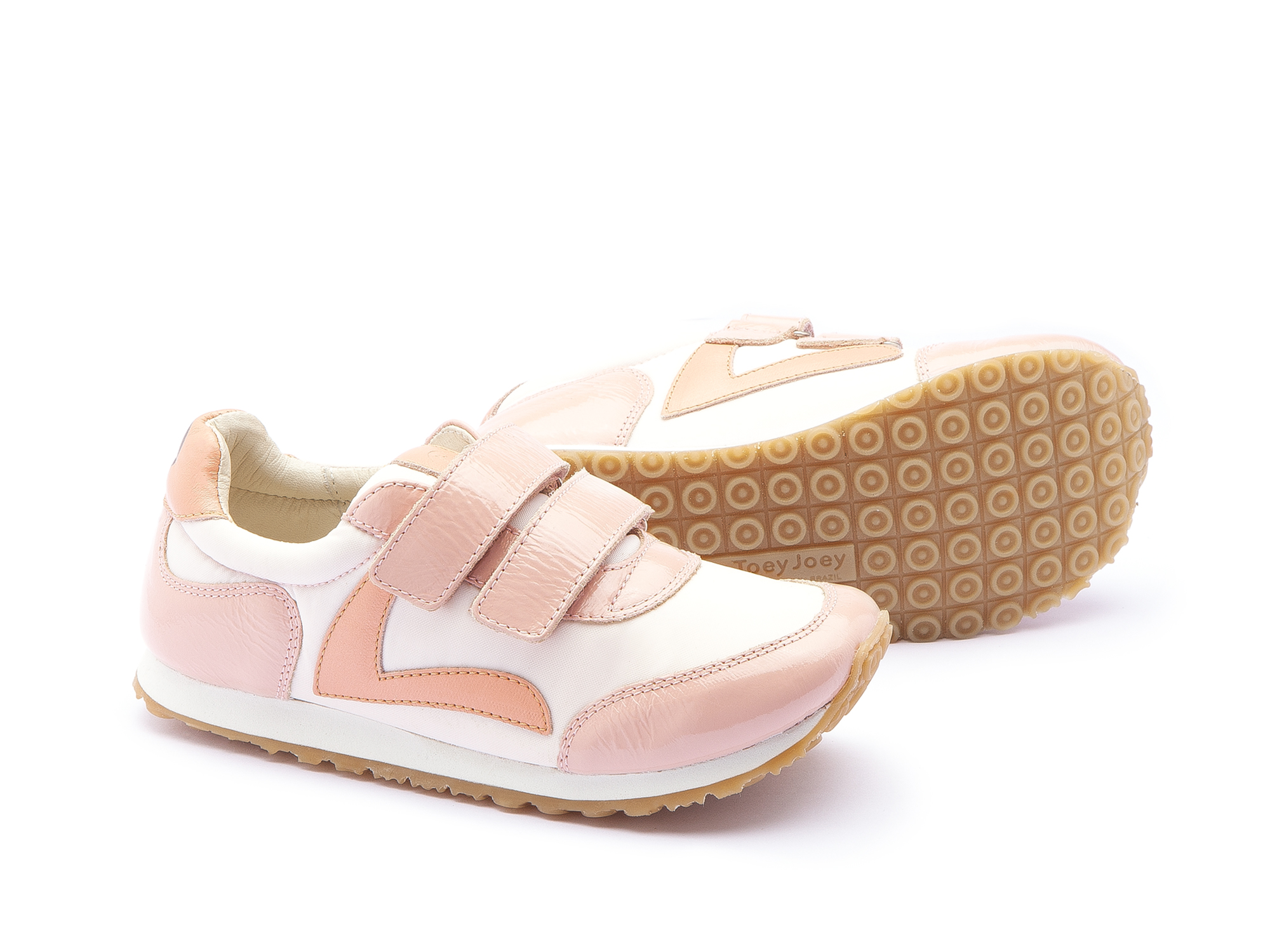 Tênis Jump Light Pink Nylon/ Patent Blush Junior 4 à 8 anos - 2