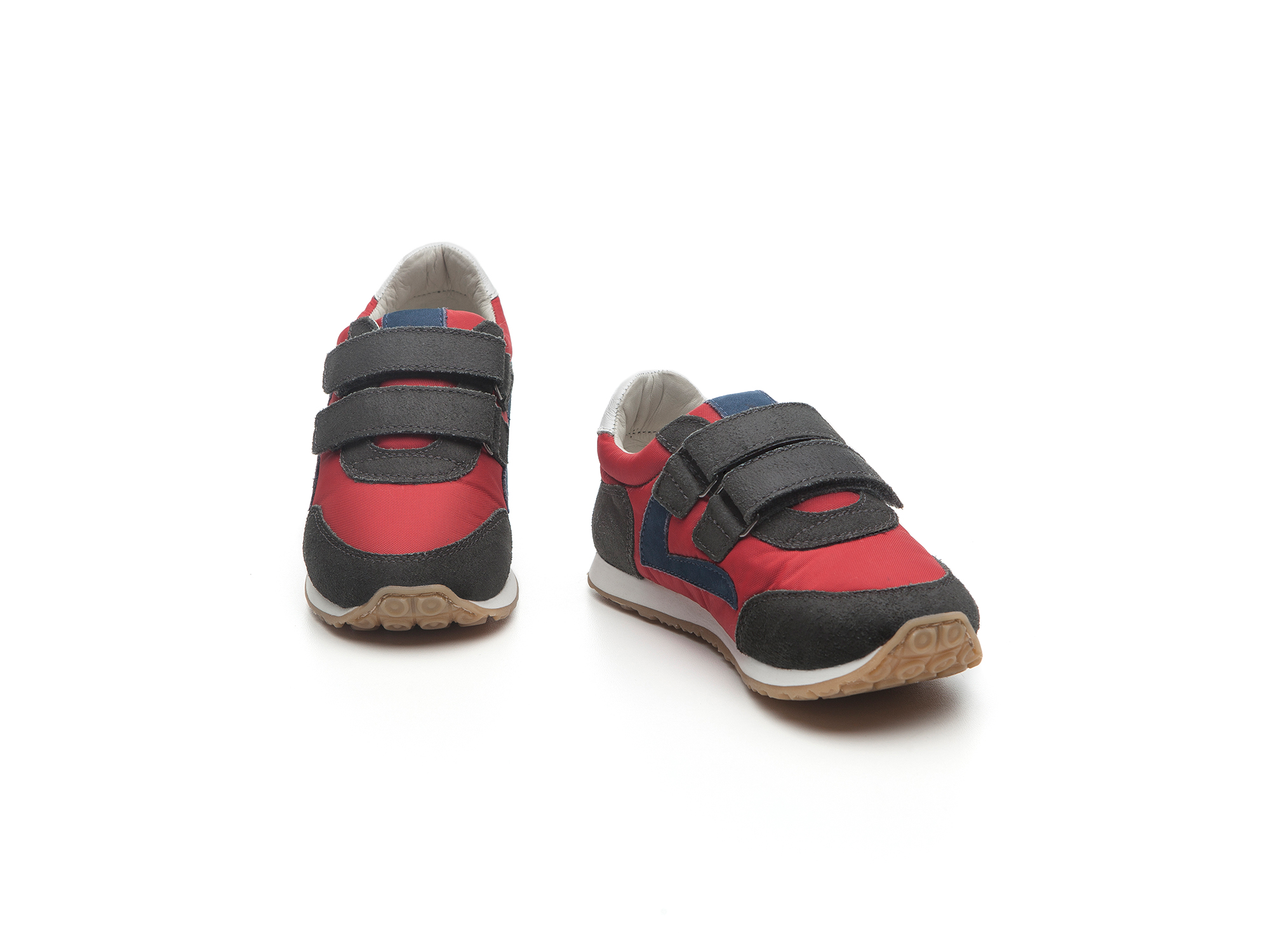 Tênis Little Jump Red Nylon/ Brushed Ash  Toddler 2 à 4 anos - 1