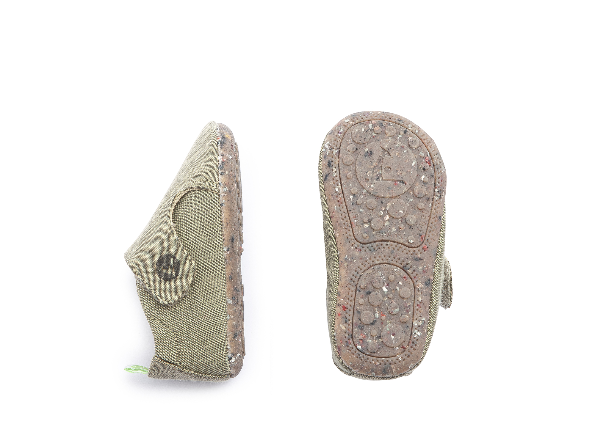Sneaker Casual Greeny Light Olive Canvas Baby 0 à 2 anos - 2