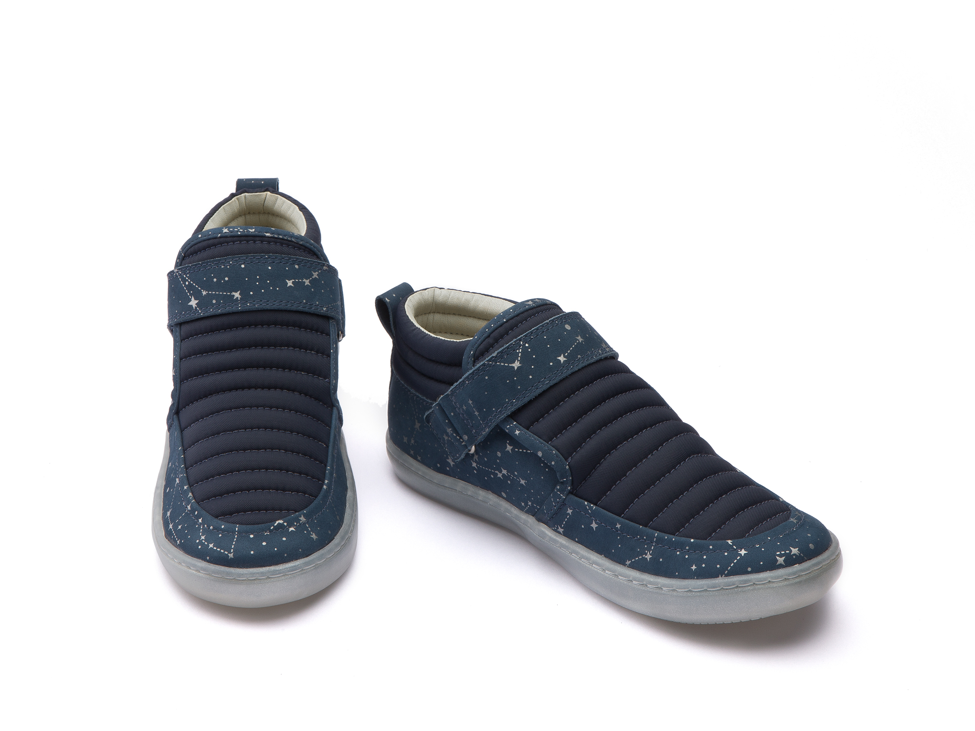 Bota Spacesuit Navy Nylon/ Blue Space Junior 4 à 8 anos - 2