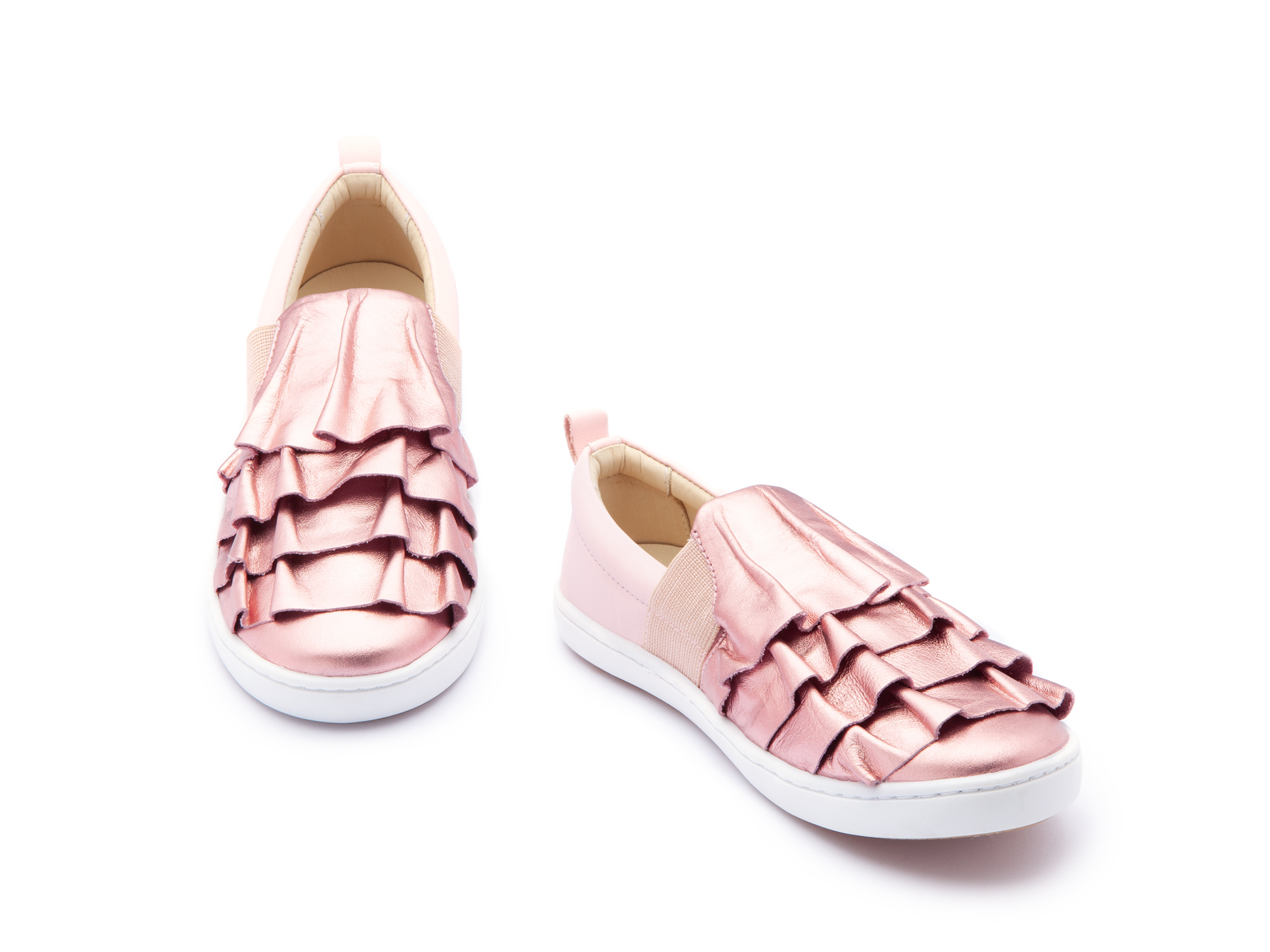 Tênis Flamenco Rose Gold/ Blossom Pink Junior 4 à 8 anos - 1