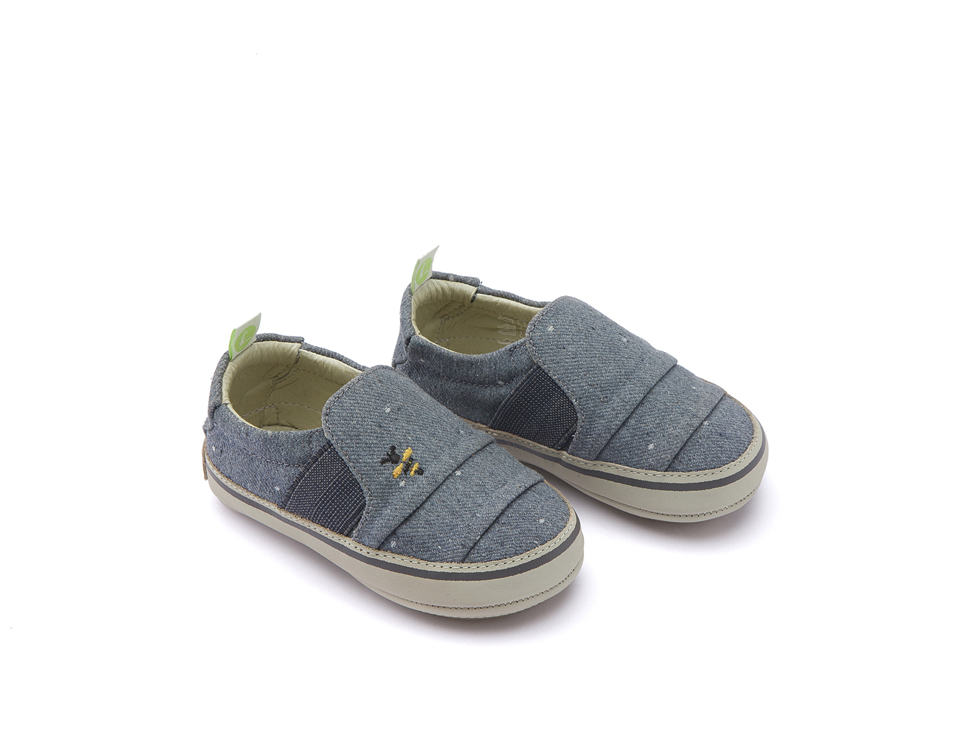 Tênis Slippy Bluish Space Canvas Beeswax/ Pumice Baby 0 à 2 anos - 0