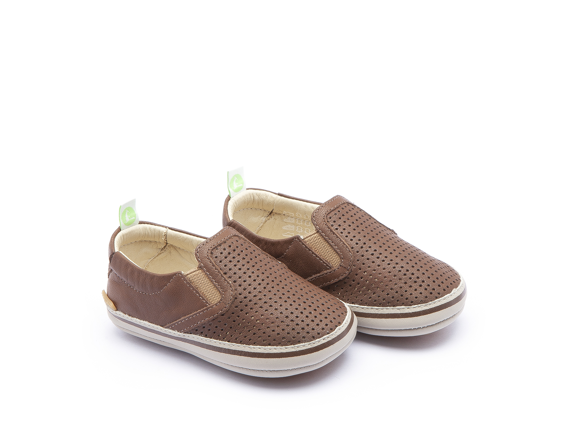 Sneaker Casual Woody Old Brown Holes/ Old Brown Baby 0 à 2 anos - 0