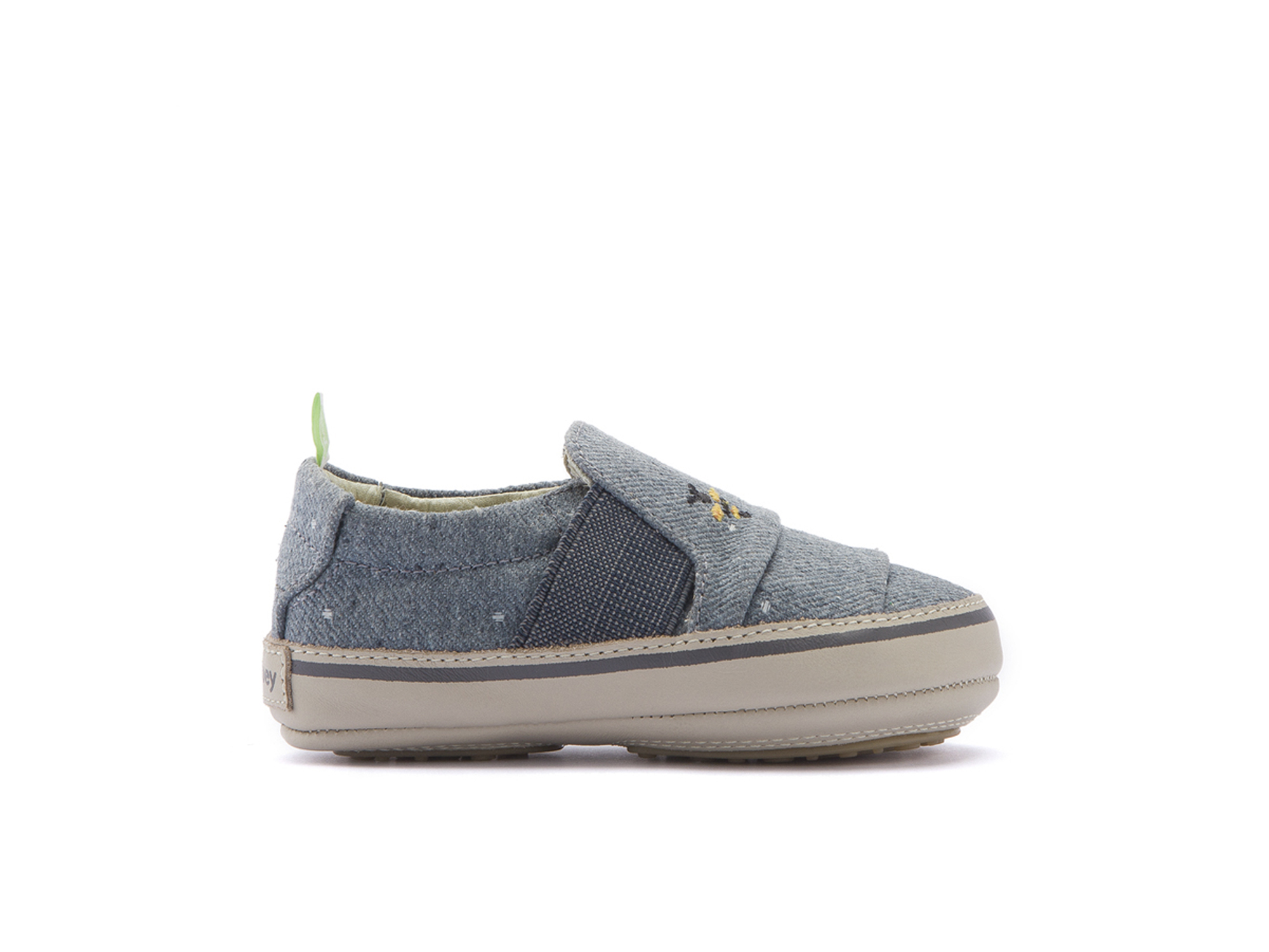 Tênis Slippy Bluish Space Canvas Beeswax/ Pumice Baby 0 à 2 anos - 1