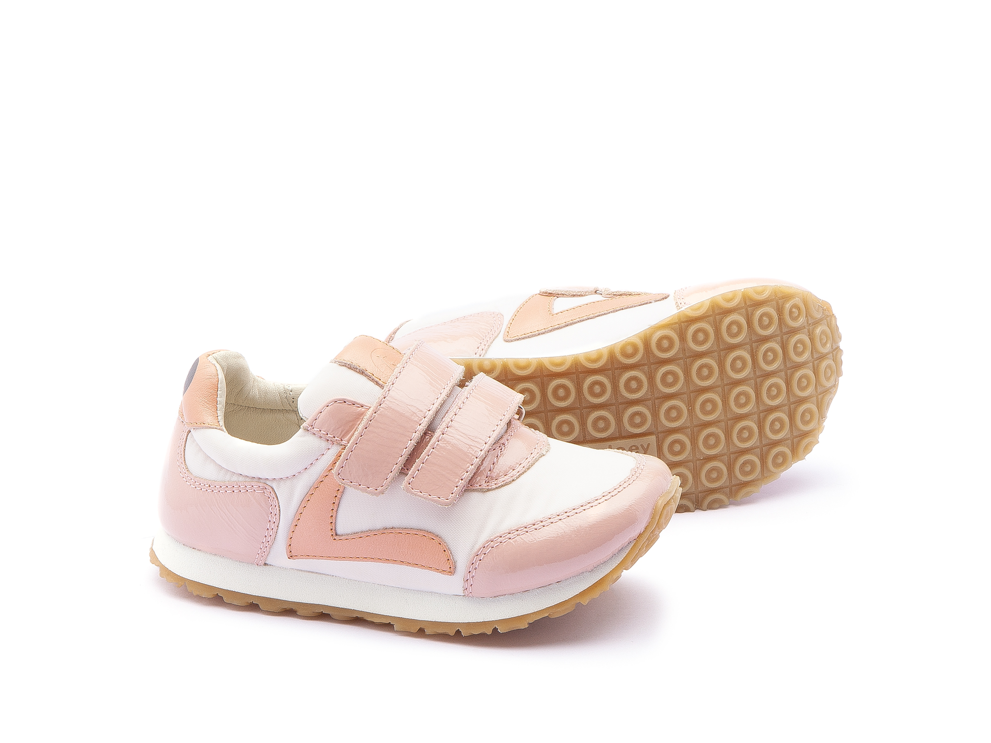 Tênis Little Jump Light Pink Nylon/ Patent Blush Toddler 2 à 4 anos - 2