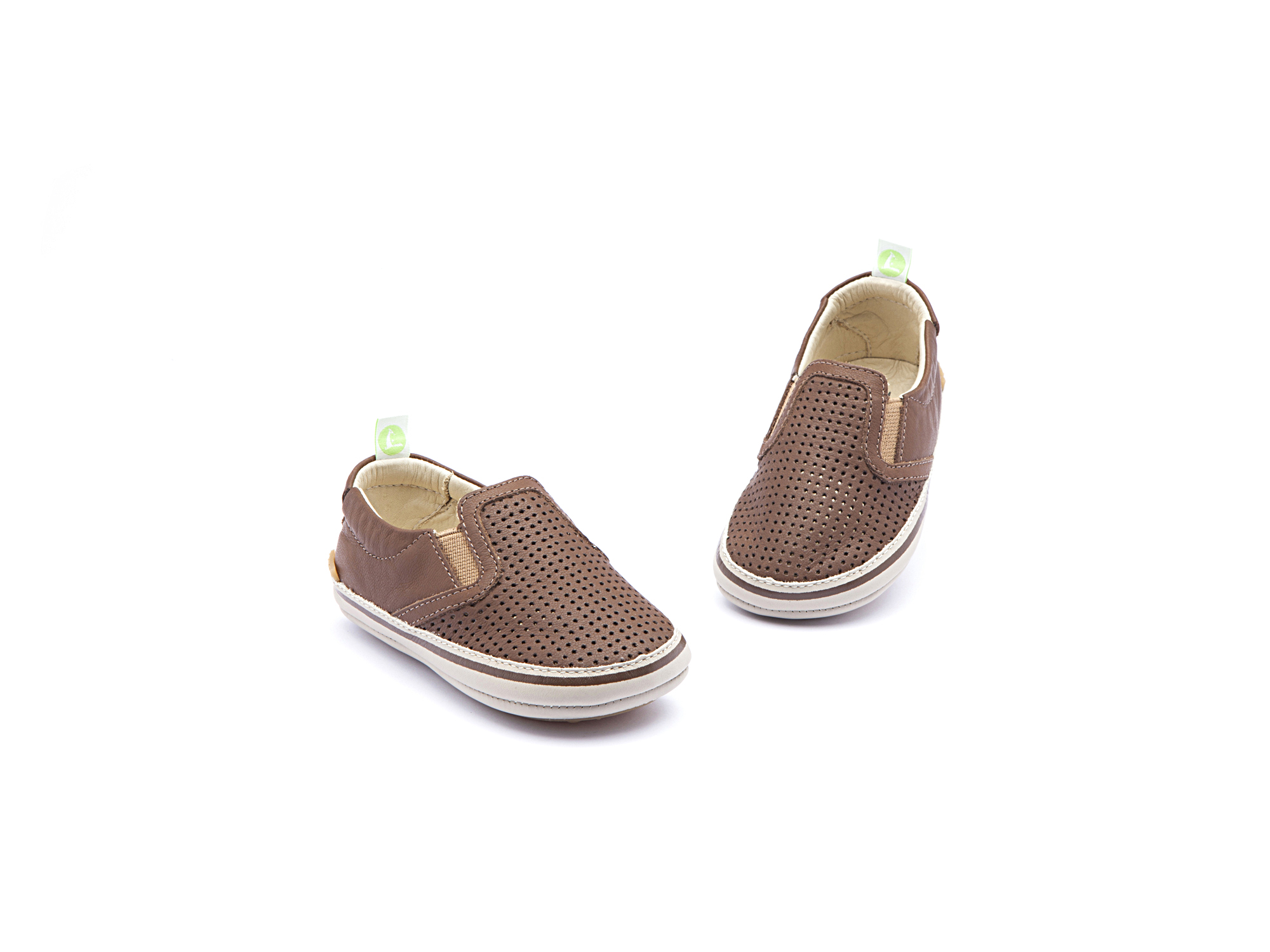 Sneaker Casual Woody Old Brown Holes/ Old Brown Baby 0 à 2 anos - 1