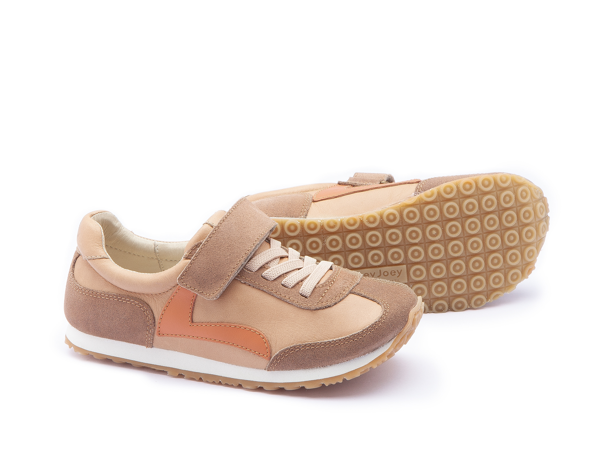 Tênis Start Sand/ Dry Tan Suede Junior 4 à 8 anos - 2